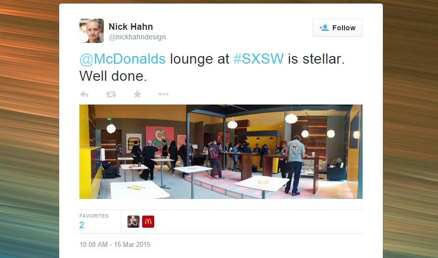 McDonald's Lounge SXSW