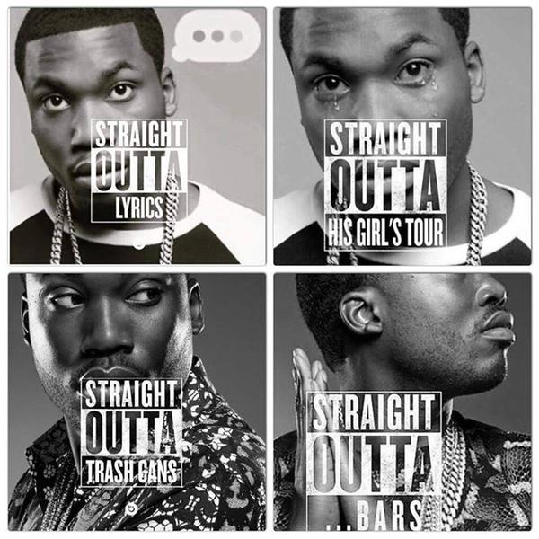 Meek Mill Straight Outta Meme