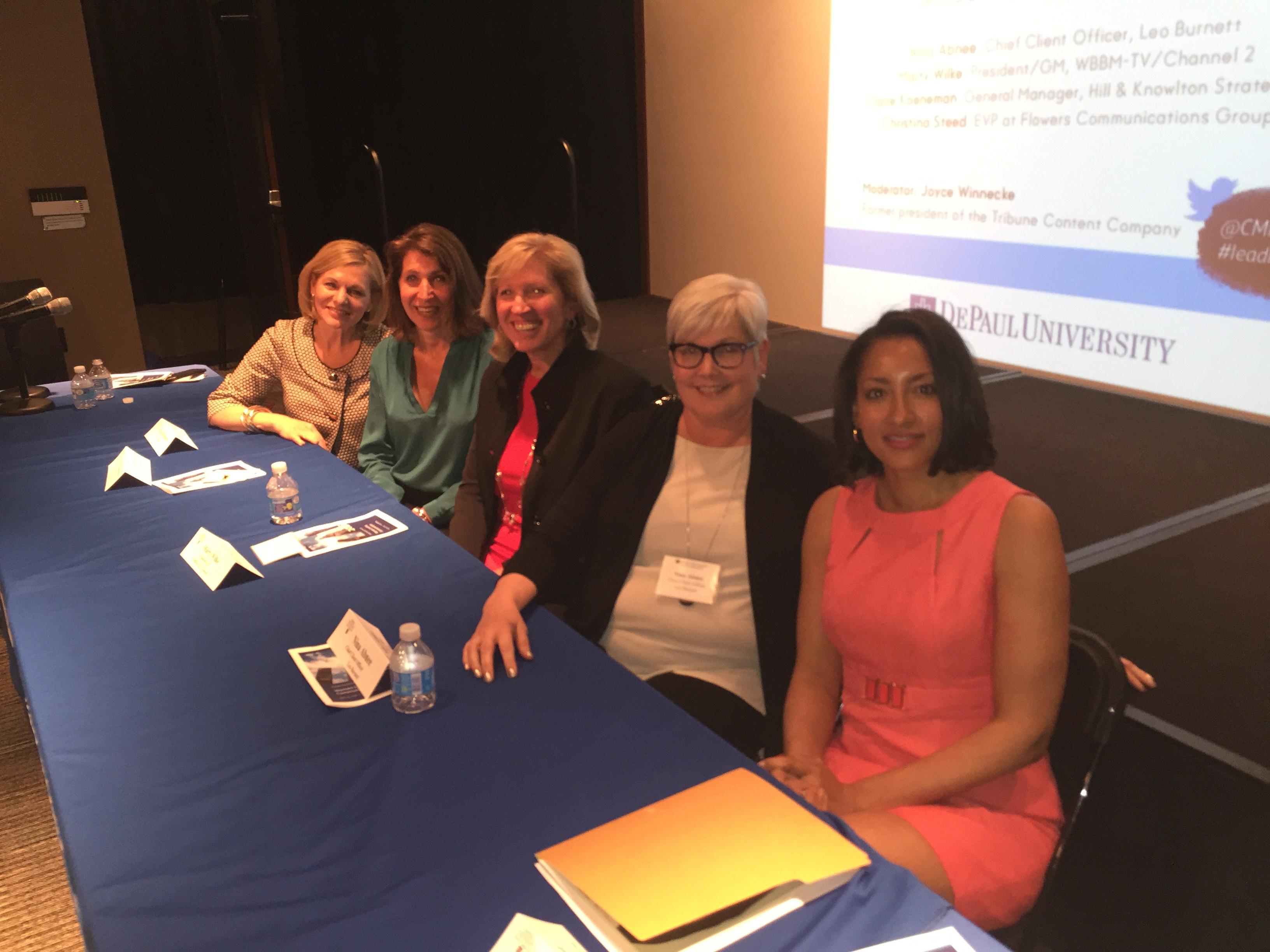 DePaul University panel Women Leading Communication